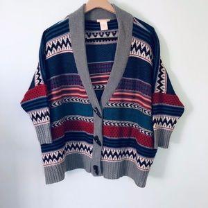 Sweet Romeo Aztec Sweater